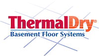 ThermalDry® basement flooring system