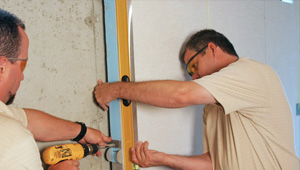 installing a basement wall finishing system in Elmira