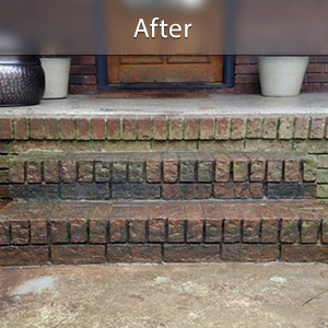 Sinking stairs repaired with PolyLevel® Syracuse
