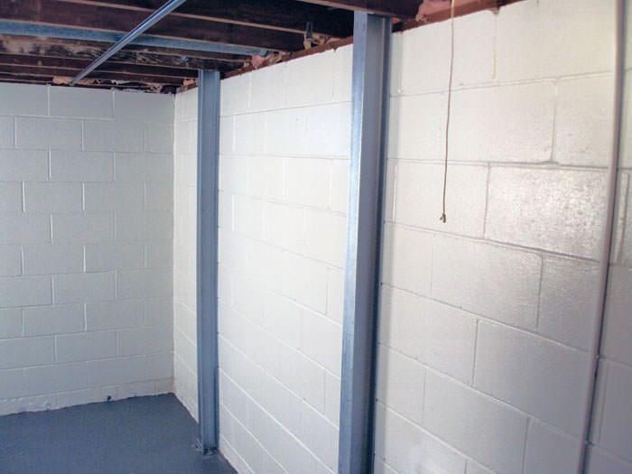 Cinder Block Basement Repair foundation wall repair in utica, binghamton, rochester, syracuse