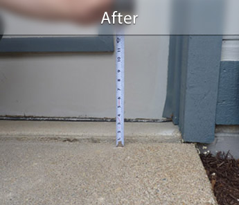 Syracuse concrete walkway repair & leveling