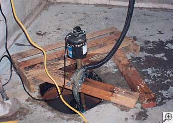 A Vestal sump pump system that failed and lead to a basement flood.