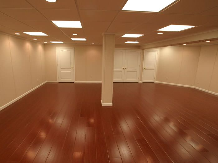 Wood Basement Flooring Millcreek, What Is The Best Type Of Flooring To Put In A Finished Basement